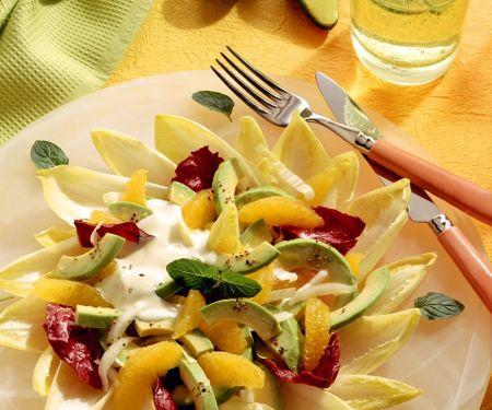 Fruchtiger Chicoreesalat