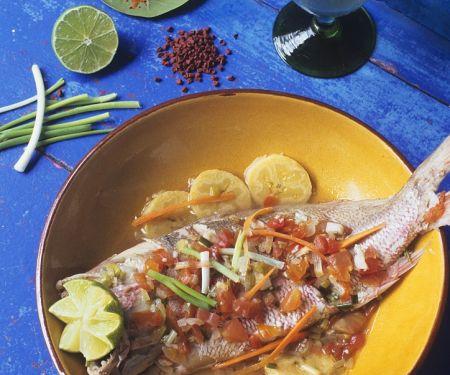 Fruchtiger Fisch