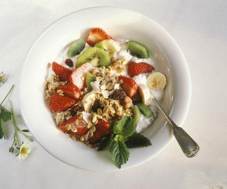Früchte-Joghurtmüsli