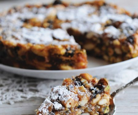 Früchte-Nuss-Kuchen