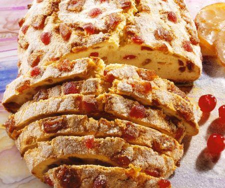 Früchtekuchen mit Cranberries
