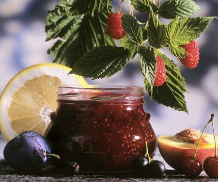 Fünf-Früchte-Marmelade