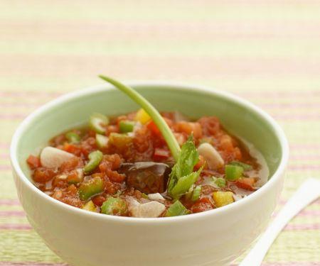 Gazpacho mit Peperoni