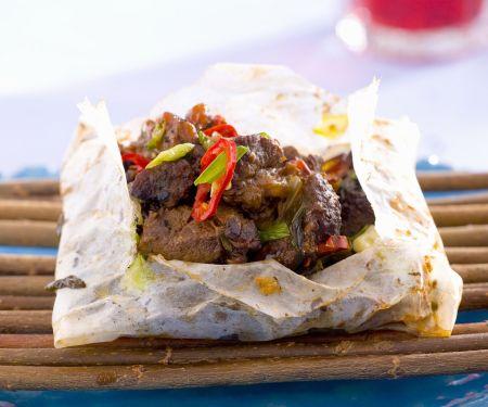 Gebackenes Lamm-Kebab