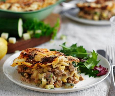 Geflügel-Ricotta-Lasagne