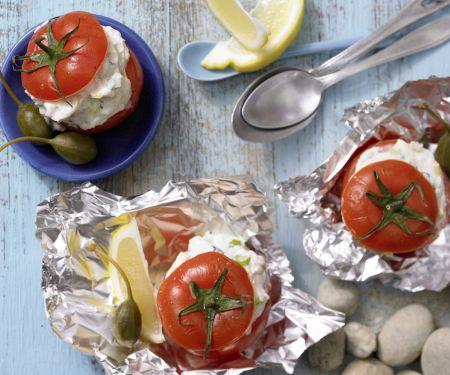 Gefüllte Ricotta-Tomaten