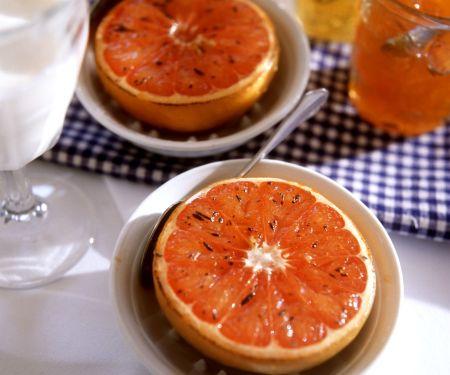 Gegrillte Grapefruit mit Honig