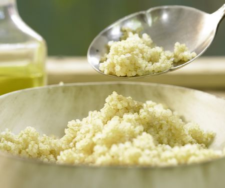 Rezept: Gekochter Quinoa