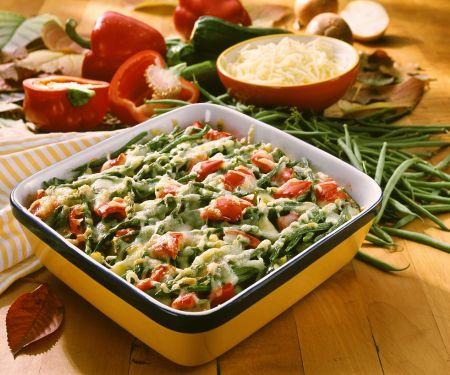 Gemüse-Hackfleischgratin