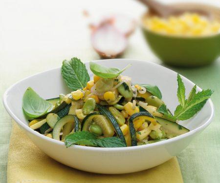 Gemüse-Mais-Pfanne
