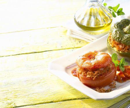 Gemüse mit Reisfüllung