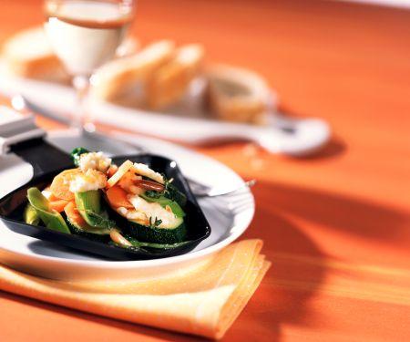 Gemüse-Raclette