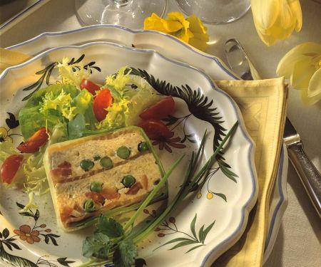 Gemüse-Räucherlachsterrine