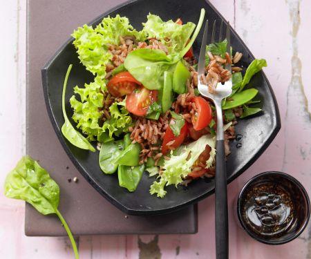 Gemüse-Reis-Salat