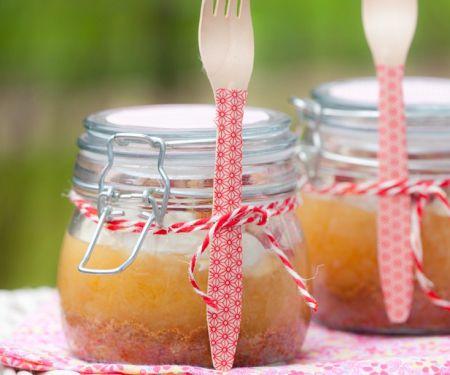 Glas-Apfelkuchen