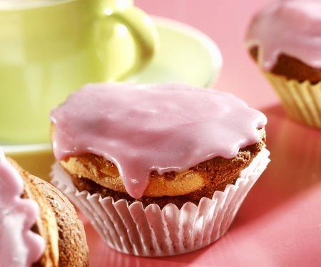 Glasierte Kaffee-Muffins