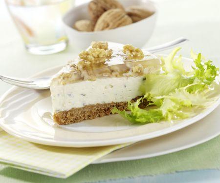 Gorgonzola-Torte mit Walnüssen