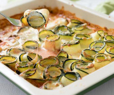 Gratinierte Zucchiniröllchen für den Thermomix
