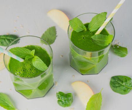 Green Smoothie mit Minze