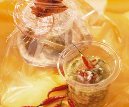 Gurken-Chili-Pickles
