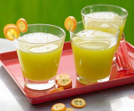 Gurken-Melonen-Drink