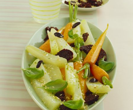 Gurken-Möhrengemüse