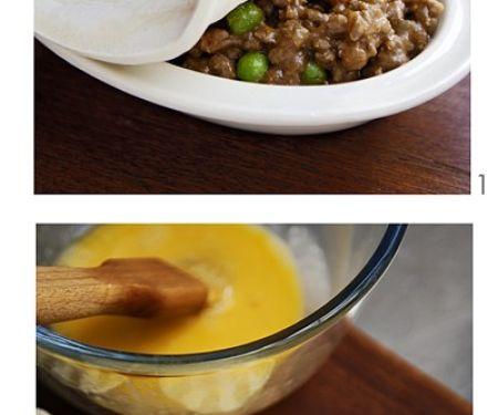 Hackfleisch-Pie mit Gemüse