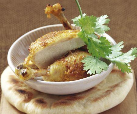 Hähnchen auf Tandoori-Art
