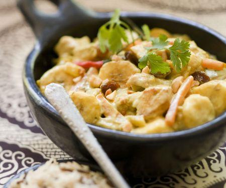 Hähnchen-Bananen-Curry