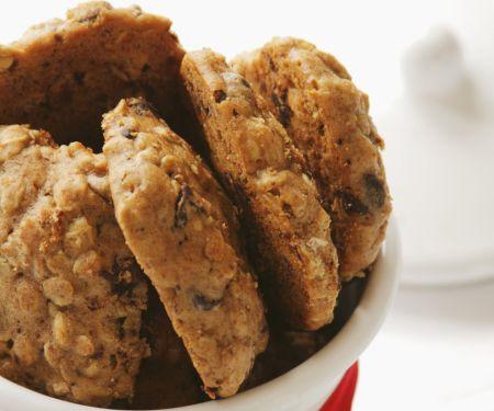Haferflocken-Schoko-Kekse