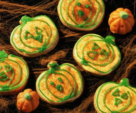Halloween-Mürbeteig-Kekse