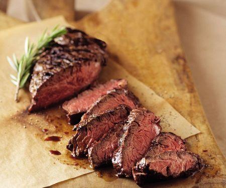 Hanger Steak vom Grill