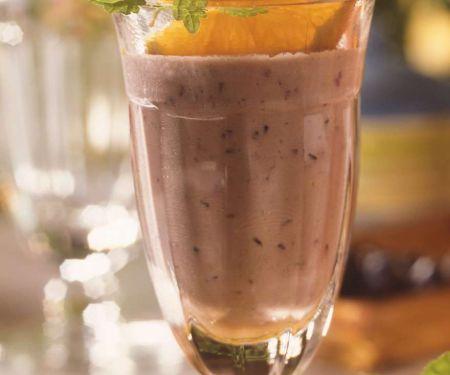 Heidelbeer-Joghurt-Drink