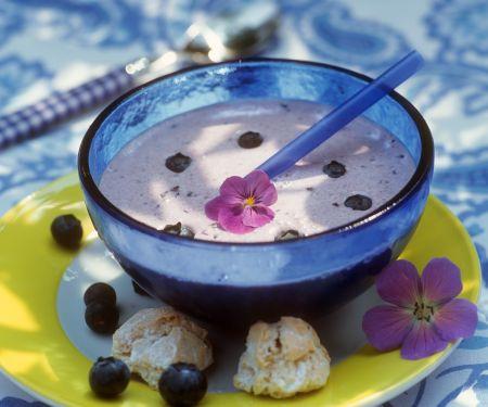 Heidelbeer-Joghurtsuppe