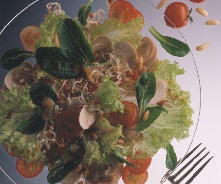Herbstlicher Vitaminsalat