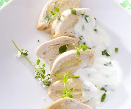 Hühnerbrust mit Kräuterjoghurt