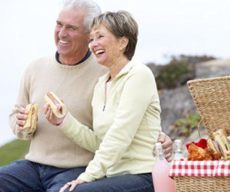 Die richtige Ernährung im Alter ist wichtig