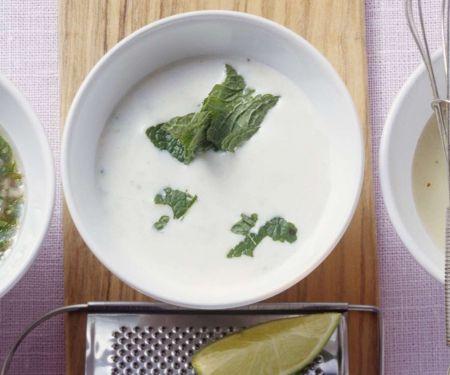 Joghurtvinaigrette mit Minze