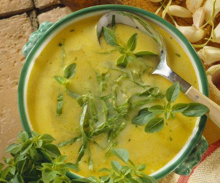 Käse-Knoblauchsuppe