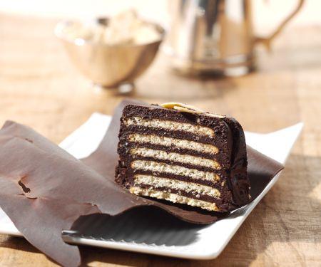 Kalter Hund (Keks-Schichtkuchen mit Schokolade)