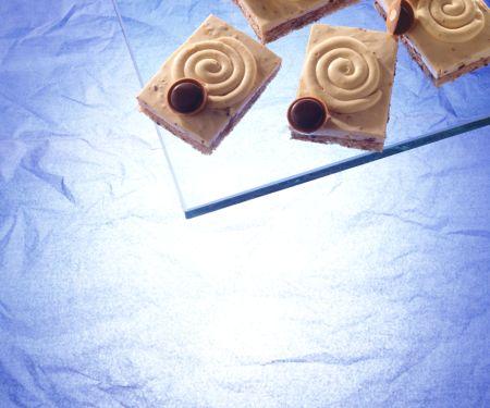 Karamell-Toffee-Creme-Schnitten