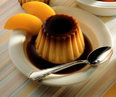Karamellpudding auf spanische Art