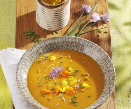 Karotten-Apfel-Suppe