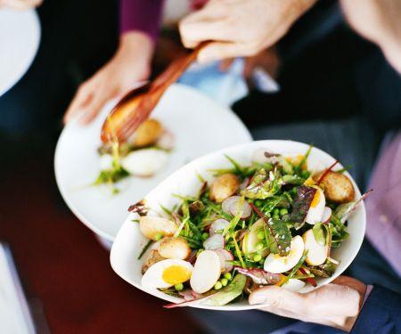 Kartoffel-Gemüsesalat