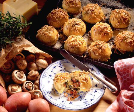 Kartoffel-Pilzbrötchen