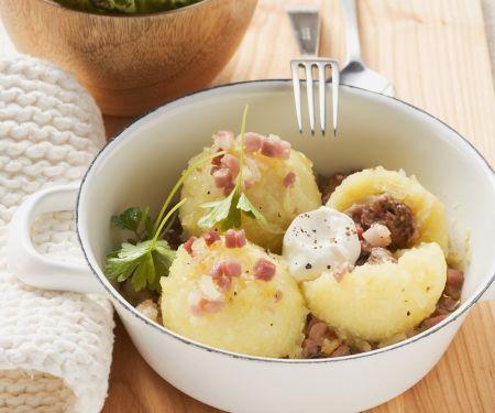Kartoffel-Speck-Klöse nach litauischer Art