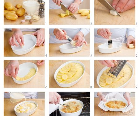 Kartoffelauflauf selbst machen