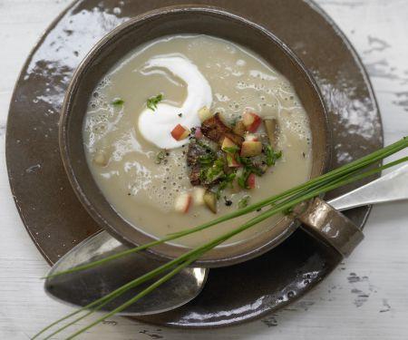 Kastanien-Kartoffel-Suppe