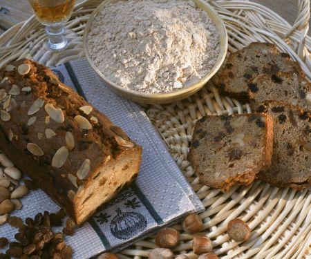 Kastanienkuchen auf Korsische Art