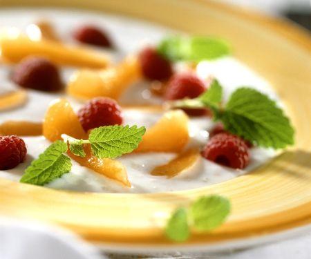 Kefir-Frucht-Suppe